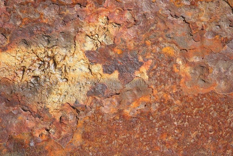 Ferro com oxidação imagens de stock royalty free