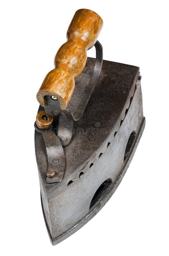 Ferro de alisamento velho imagem de stock royalty free