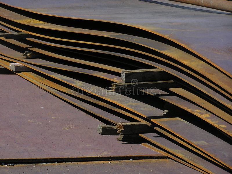 Ferro De Folha Foto de Stock