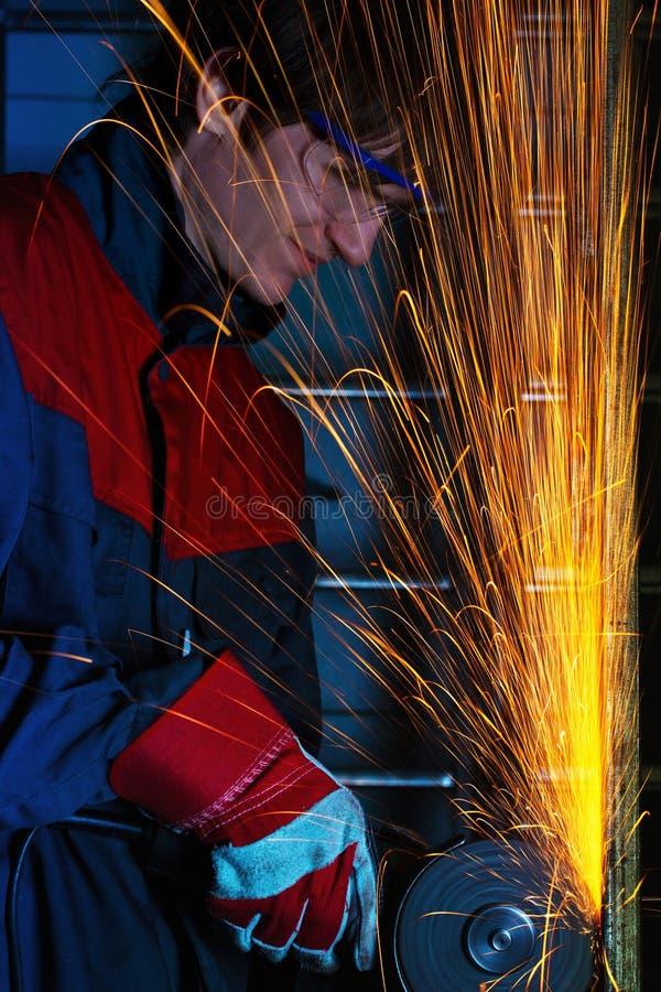 Ferro de moedura fotografia de stock royalty free