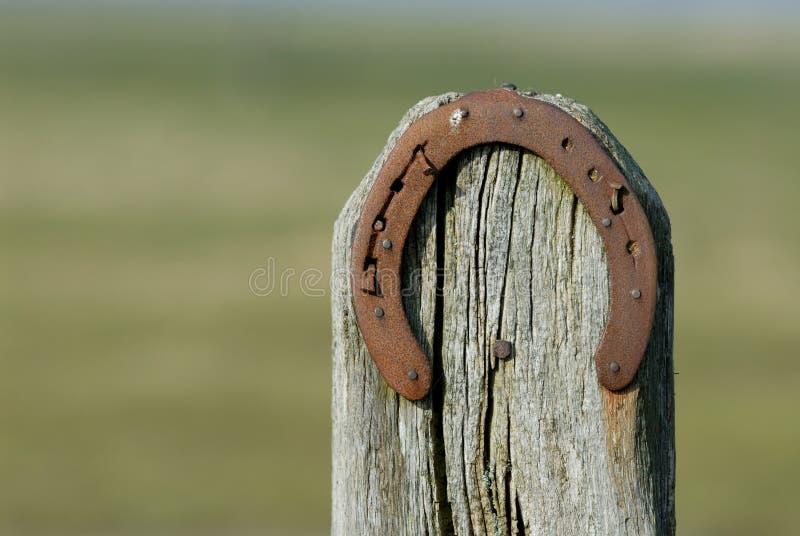 Ferro di cavallo fotografia stock libera da diritti