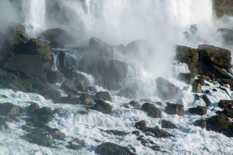 Ferro di cavallo di cascate del Niagara ontario canada Bella priorit? bassa della cascata immagine stock