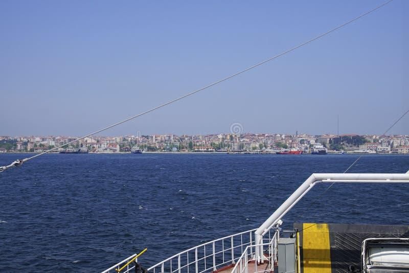 Ferro di Gallipoli che attraversa i Dardanelles fotografia stock