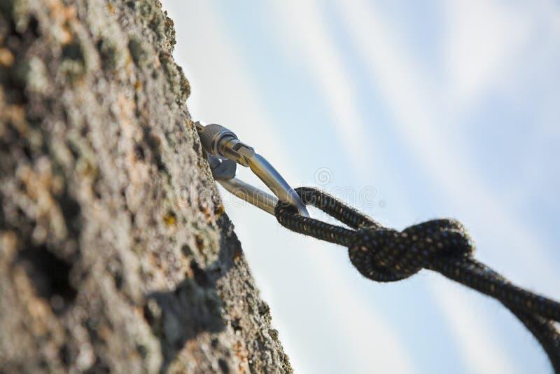 Ferro di scalata immagine stock