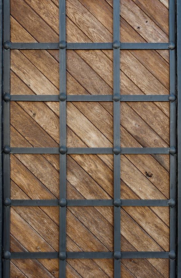 Ferro folheado de madeira imagem de stock royalty free