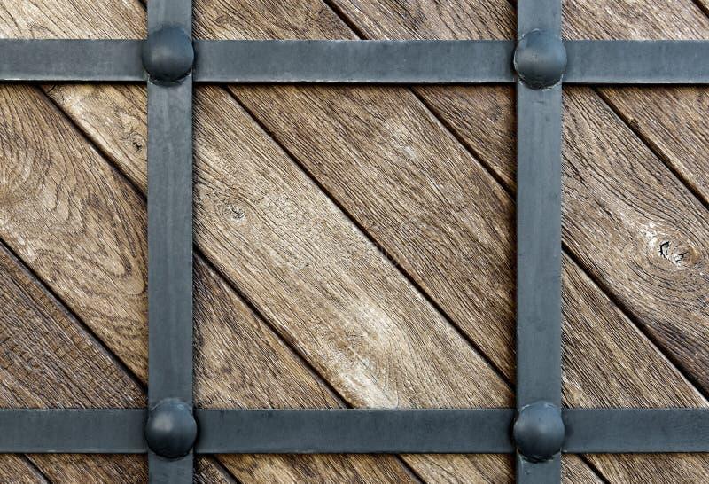 Ferro folheado de madeira imagens de stock