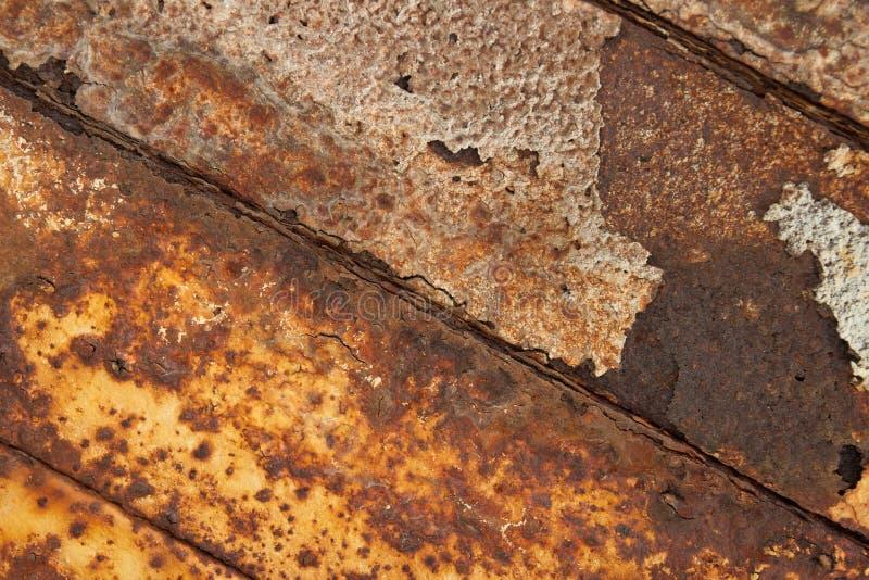 Ferro oxidado. imagens de stock royalty free