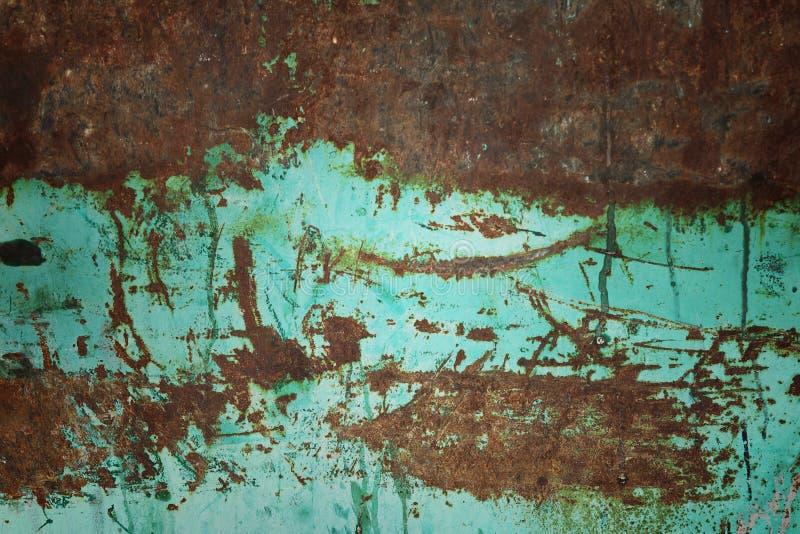 Ferro oxidado do arranhão imagens de stock royalty free