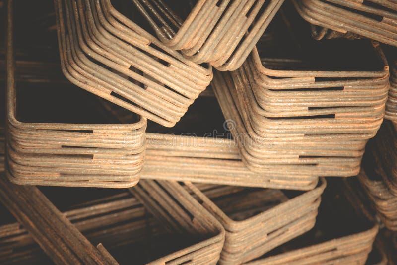 Ferro usado na construção foto de stock royalty free