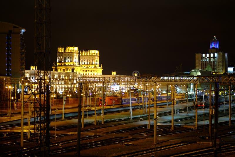Download Ferrocarril Central De Minsk Imagen de archivo - Imagen de ferrocarril, europeo: 64210387
