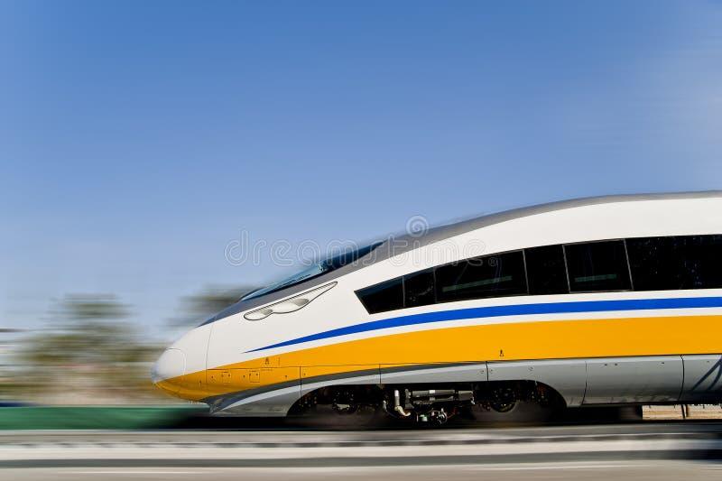 Ferrocarril de alta velocidad del EMU imágenes de archivo libres de regalías
