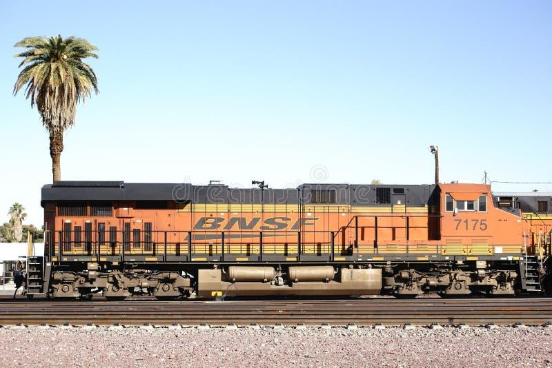 Ferrocarril de BNSF imagen de archivo libre de regalías