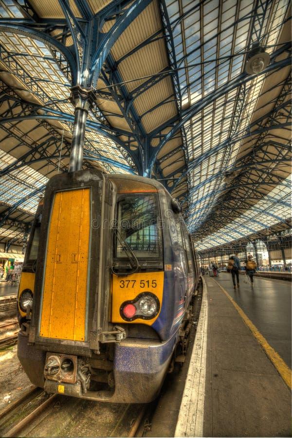 Ferrocarril de Brighton foto de archivo libre de regalías
