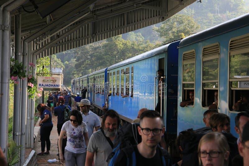 Ferrocarril de Ella Town foto de archivo
