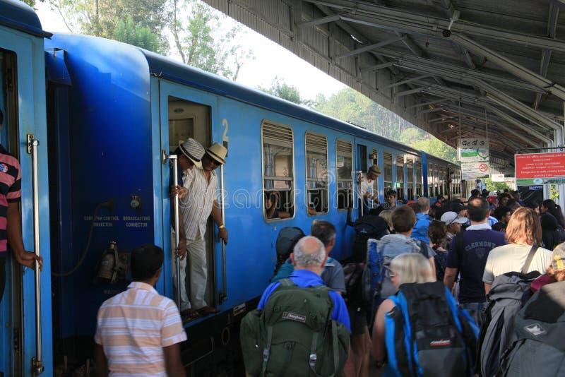 Ferrocarril de Ella Town foto de archivo libre de regalías