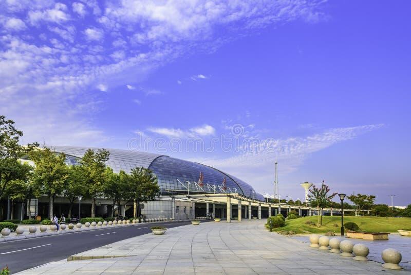 Ferrocarril de Nantong fotos de archivo libres de regalías