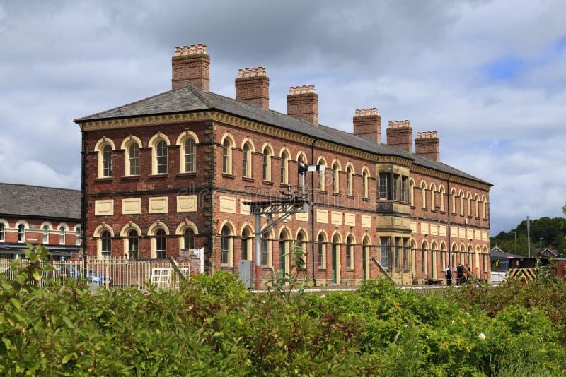 Ferrocarril de Oswestry imagen de archivo