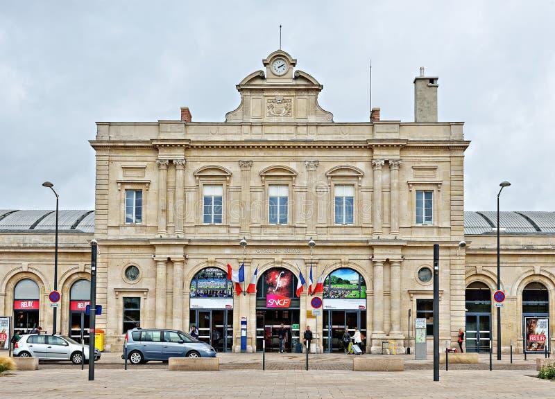 Ferrocarril de Reims foto de archivo