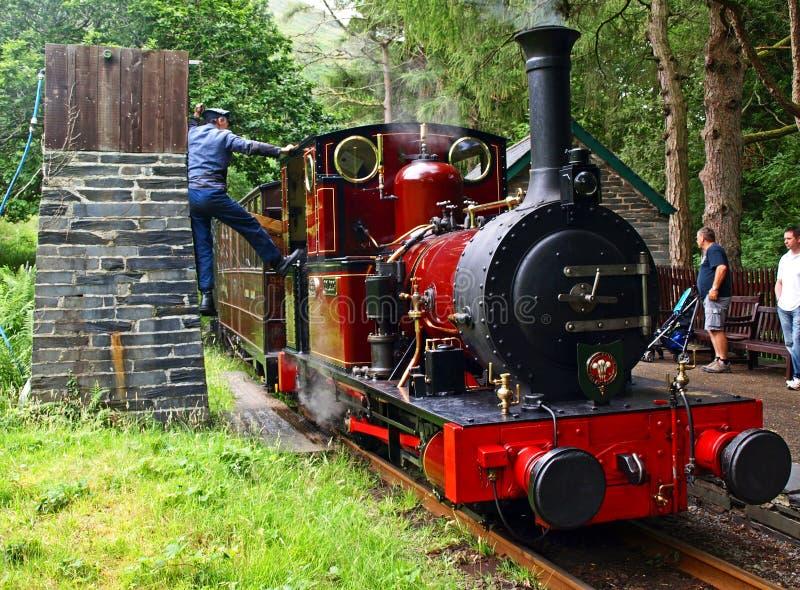 Ferrocarril de Talylln fotos de archivo