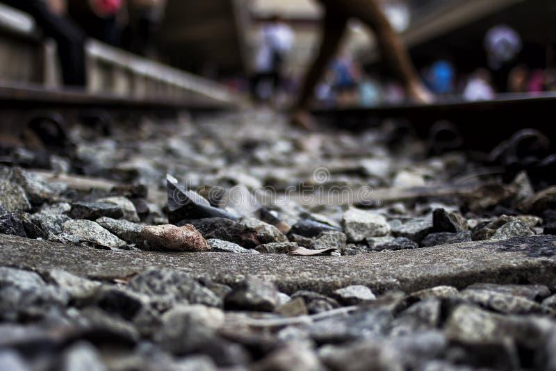 Ferrocarril de Tanjong Pagar, Singapur fotografía de archivo libre de regalías