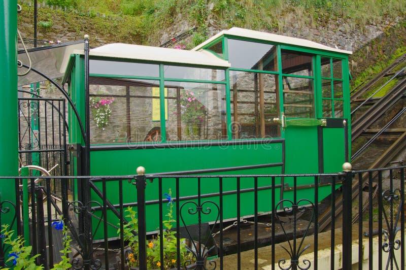 Ferrocarril del acantilado de Lynton y de Lynmouth fotos de archivo libres de regalías