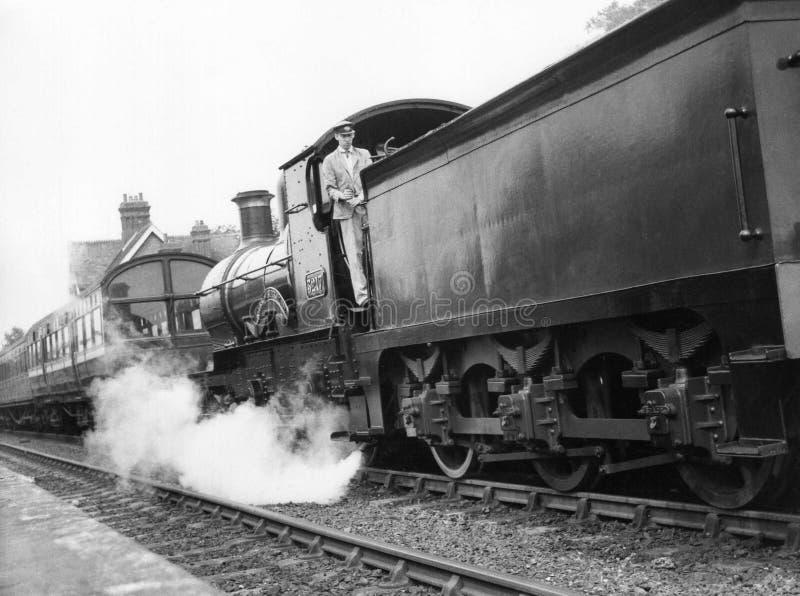 Ferrocarril del Bluebell imagenes de archivo