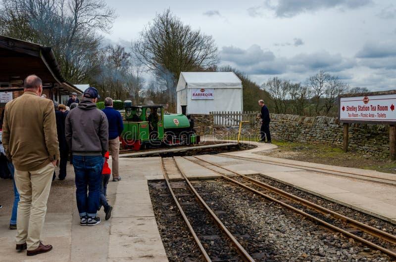 Ferrocarril del calibrador estrecho foto de archivo