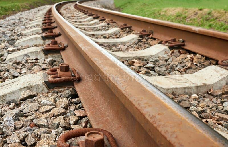 Ferrocarril del calibrador estrecho imagenes de archivo