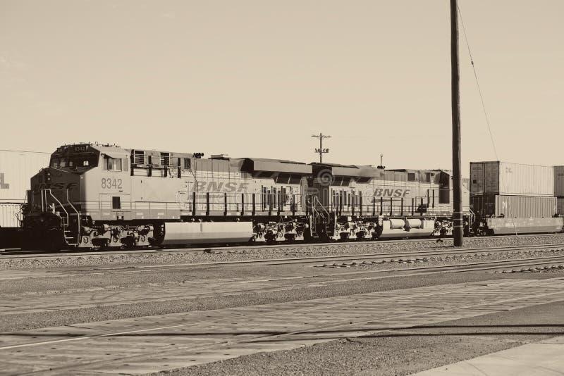 Ferrocarril en agujas imagen de archivo libre de regalías