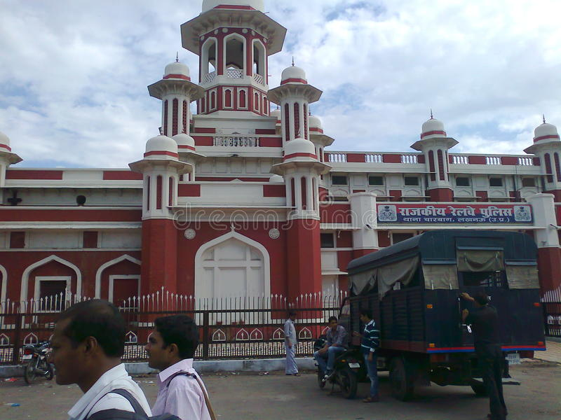 Ferrocarril histórico de Lucknow fotografía de archivo libre de regalías