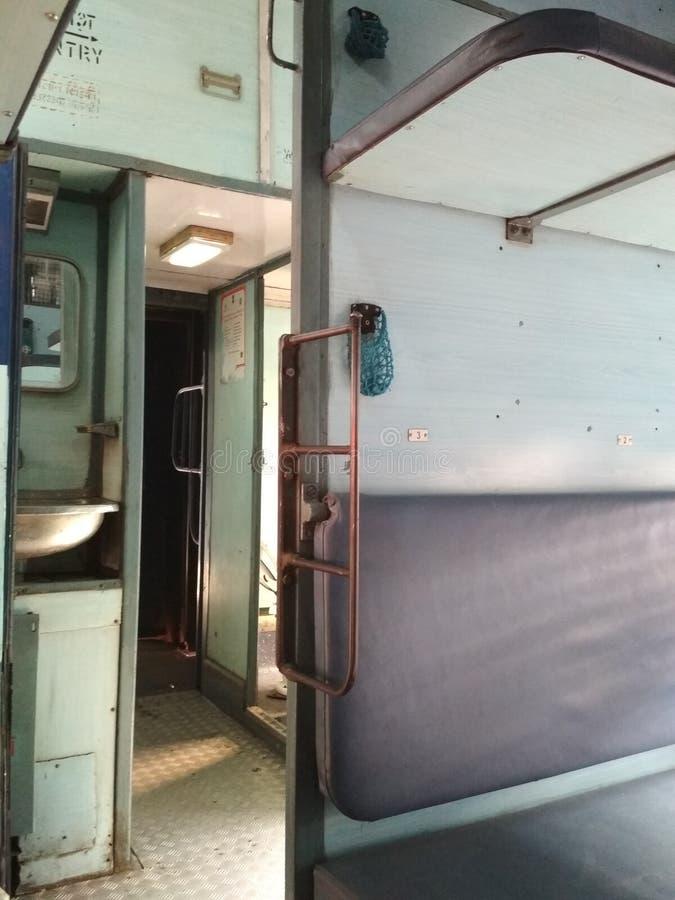 Ferrocarril indio foto de archivo libre de regalías