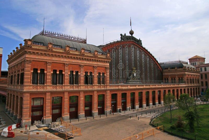 Ferrocarril Madrid fotografía de archivo libre de regalías