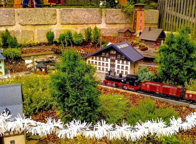 Ferrocarril Modelo Miniatura Dominio Público Y Gratuito Cc0 Imagen
