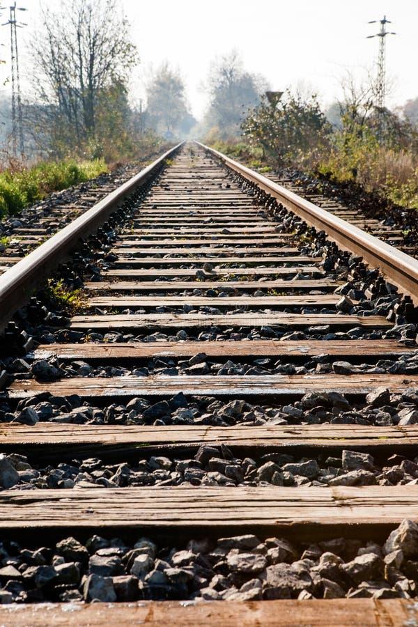 Ferrocarril rural fotos de archivo libres de regalías