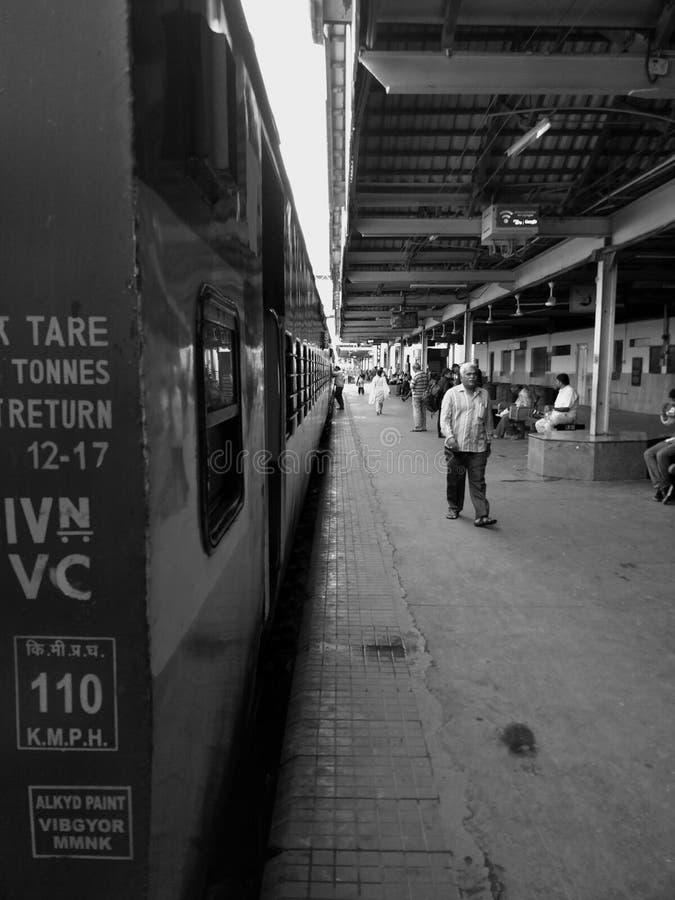 Ferrocarriles indios fotografía de archivo libre de regalías