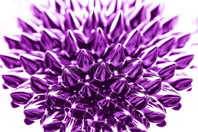 Ferrofluid stock foto