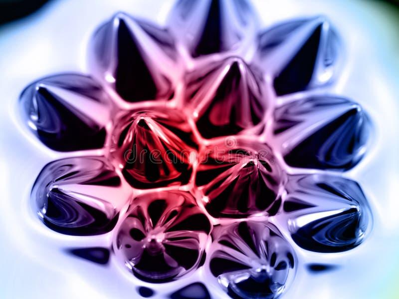 Ferrofluid stock foto's