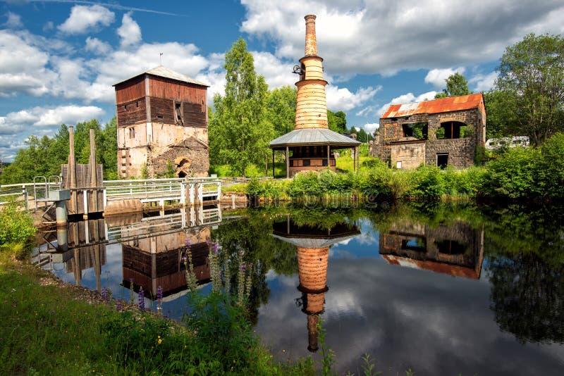 Ferronneries abandonnées photos libres de droits