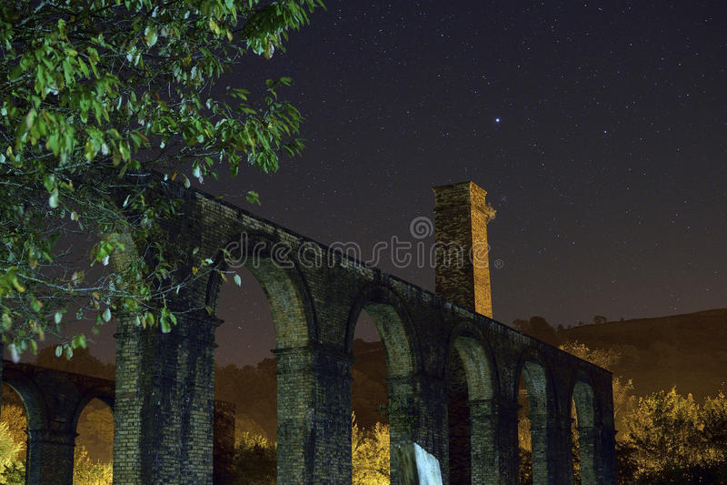 Ferronneries de Ynyscedwyn photo stock