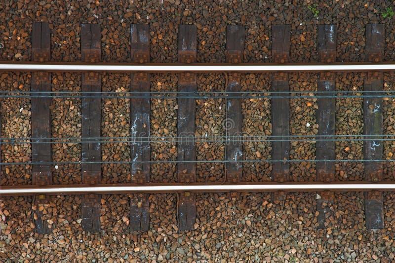 Ferrovías foto de archivo