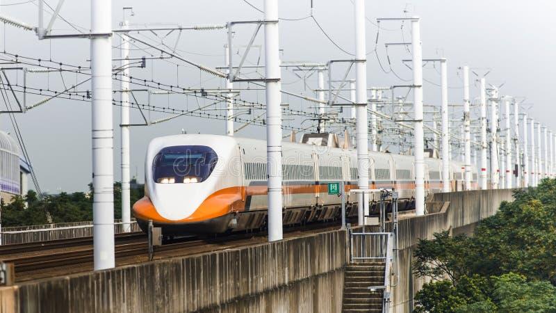 Ferrovia ad alta velocità fotografie stock