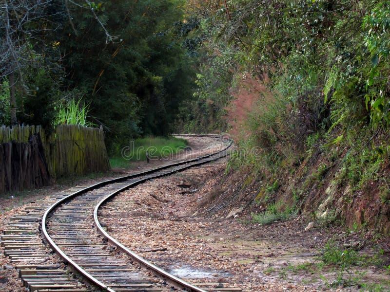 Ferrovia ad ovest della ferrovia del turista del Minas fotografia stock
