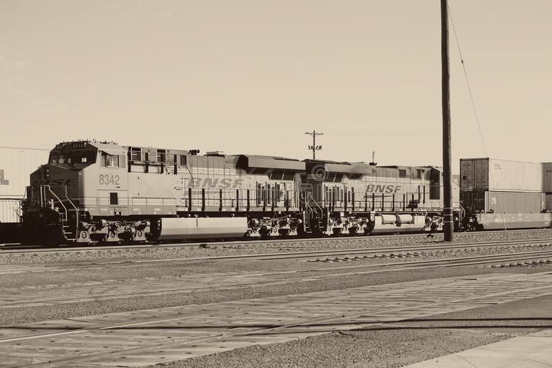 Ferrovia in aghi immagine stock libera da diritti