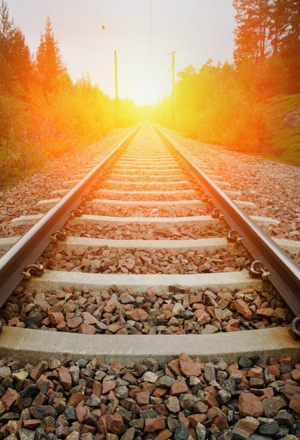 Ferrovia d'annata immagini stock libere da diritti