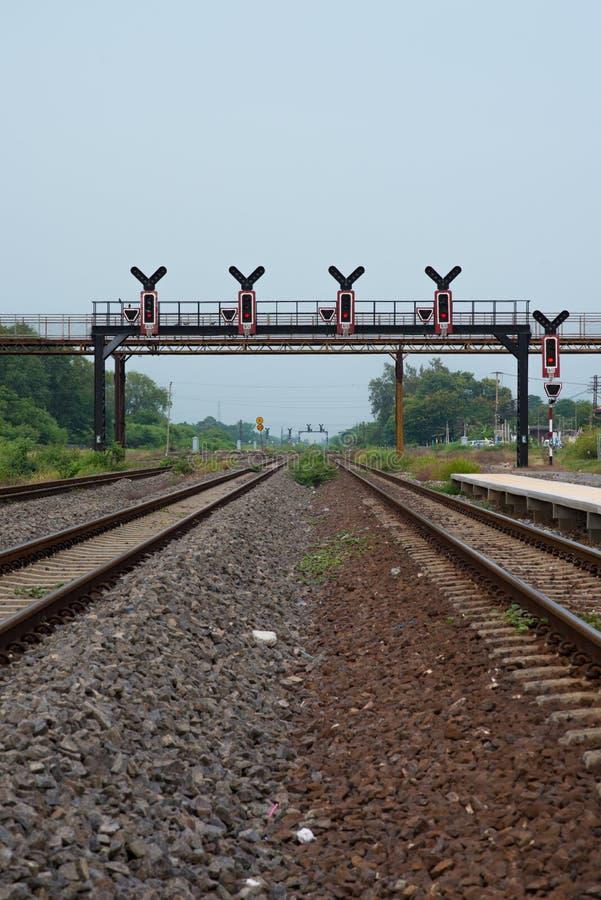 Ferrovia d'annata immagine stock libera da diritti