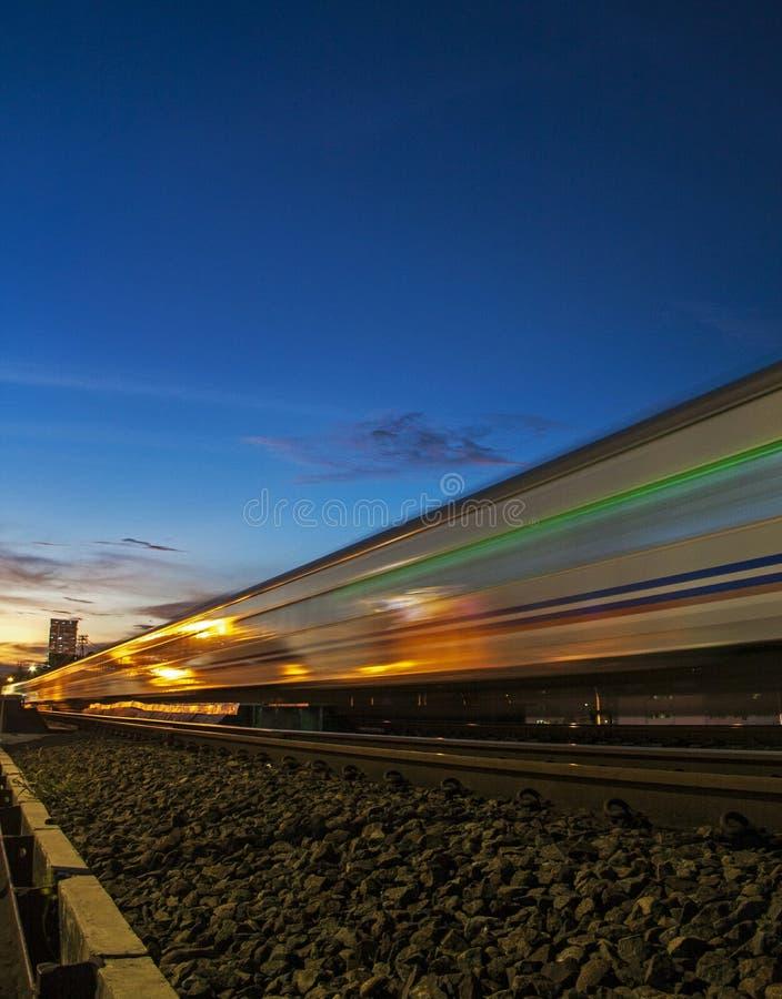 Ferrovia di Jogja fotografie stock