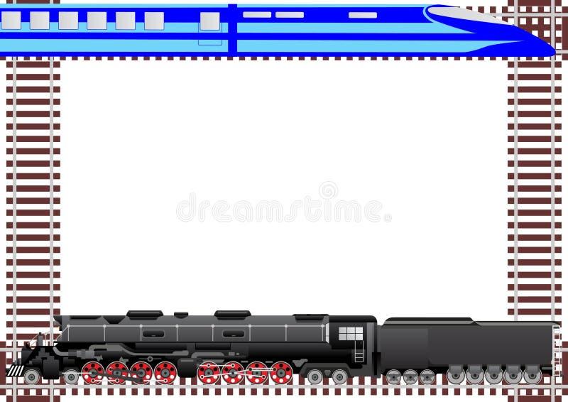 Ferrovie di trasporto immagine stock libera da diritti