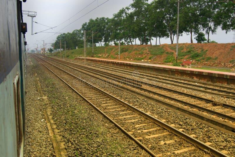 Ferrovie indiane immagine stock libera da diritti