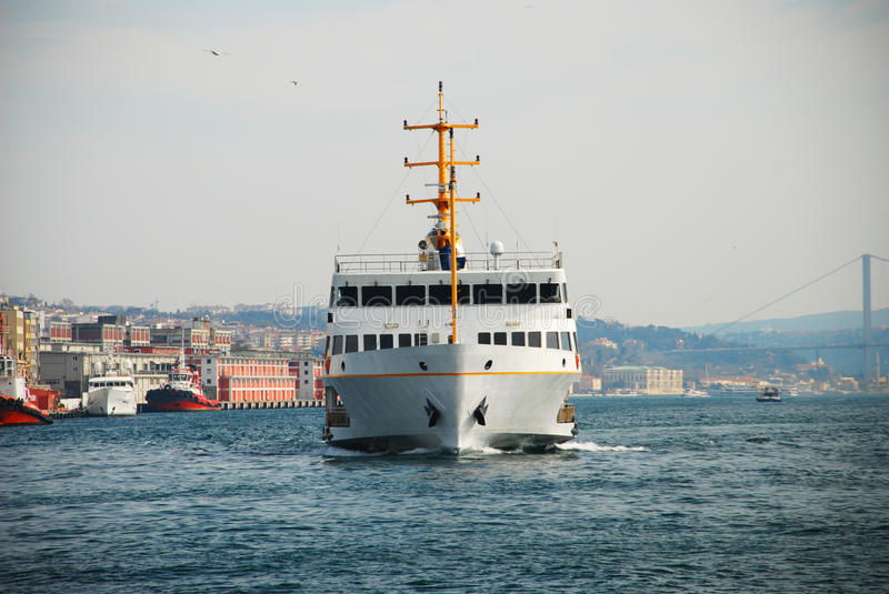 Ferry à Istanbul photographie stock