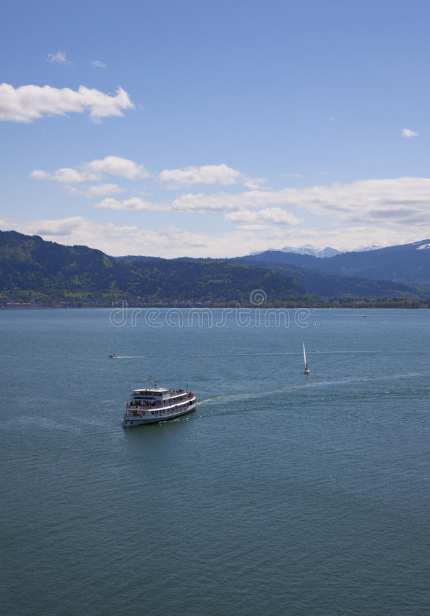 Download Ferry stock photo. Image of bodensee, beautiful, medieval - 25104356